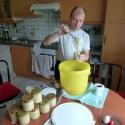 Abfüllen Honig Kiste 1